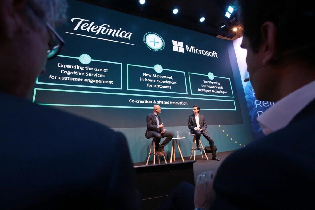 Microsoft y Telefónica se unen para desarrollar proyectos de IA y Blockchain