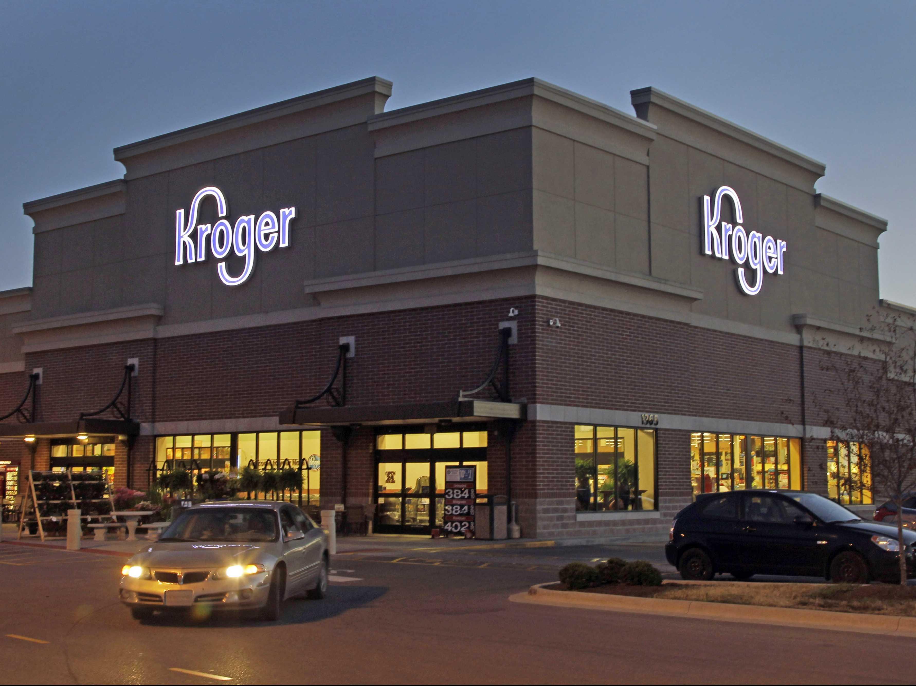 Kroger bansea el uso de tarjeta Visa