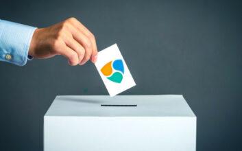 Sistema de votación NEM en Demo Day Madrid
