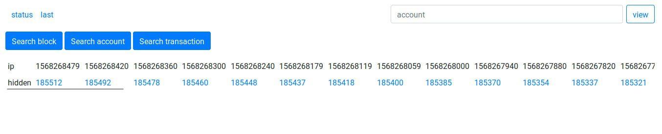 Imagen de blockchain explorer de TON