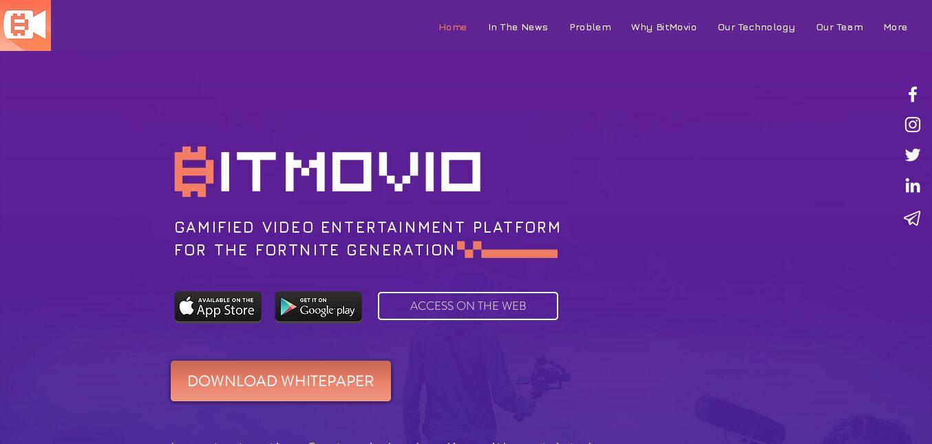 BitMovio, usa el poder de Ethereum para monetizar sus contenidos