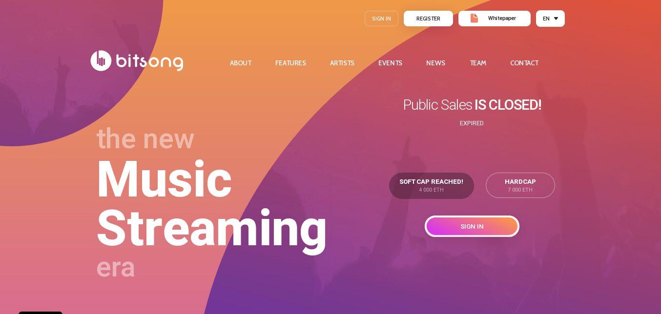 BitSon monetizando la música con blockchain