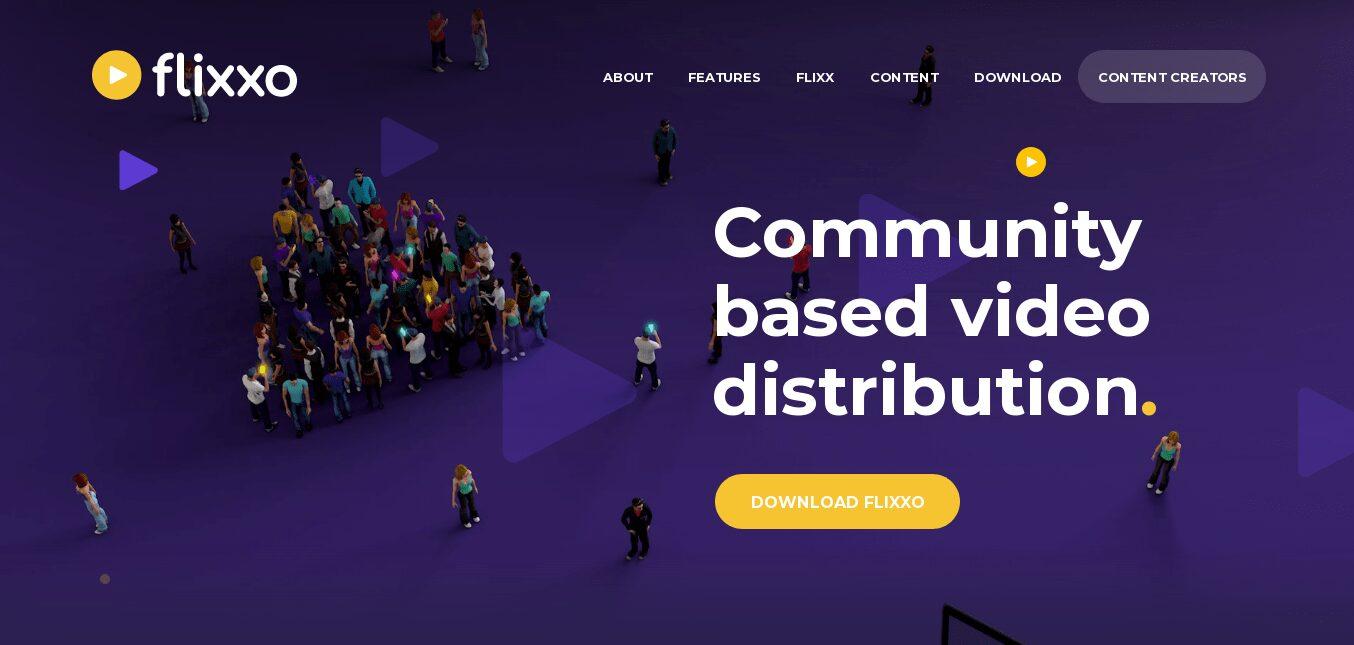 Flixxo un sistema de distribución de vídeo comunitario
