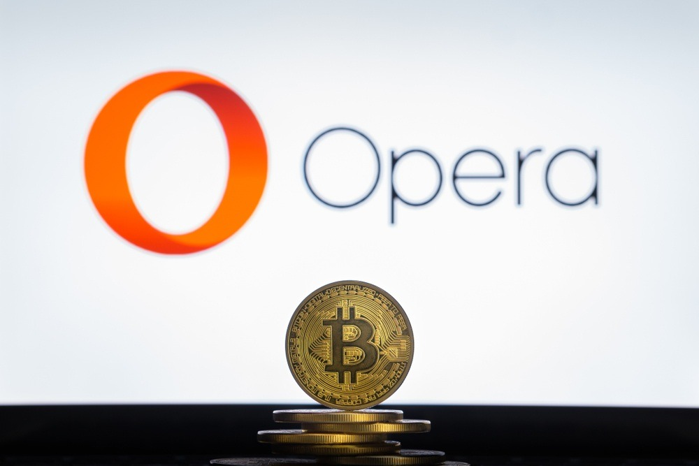 Opera ahora con soporte para BTC y TRON en su monedero integrado