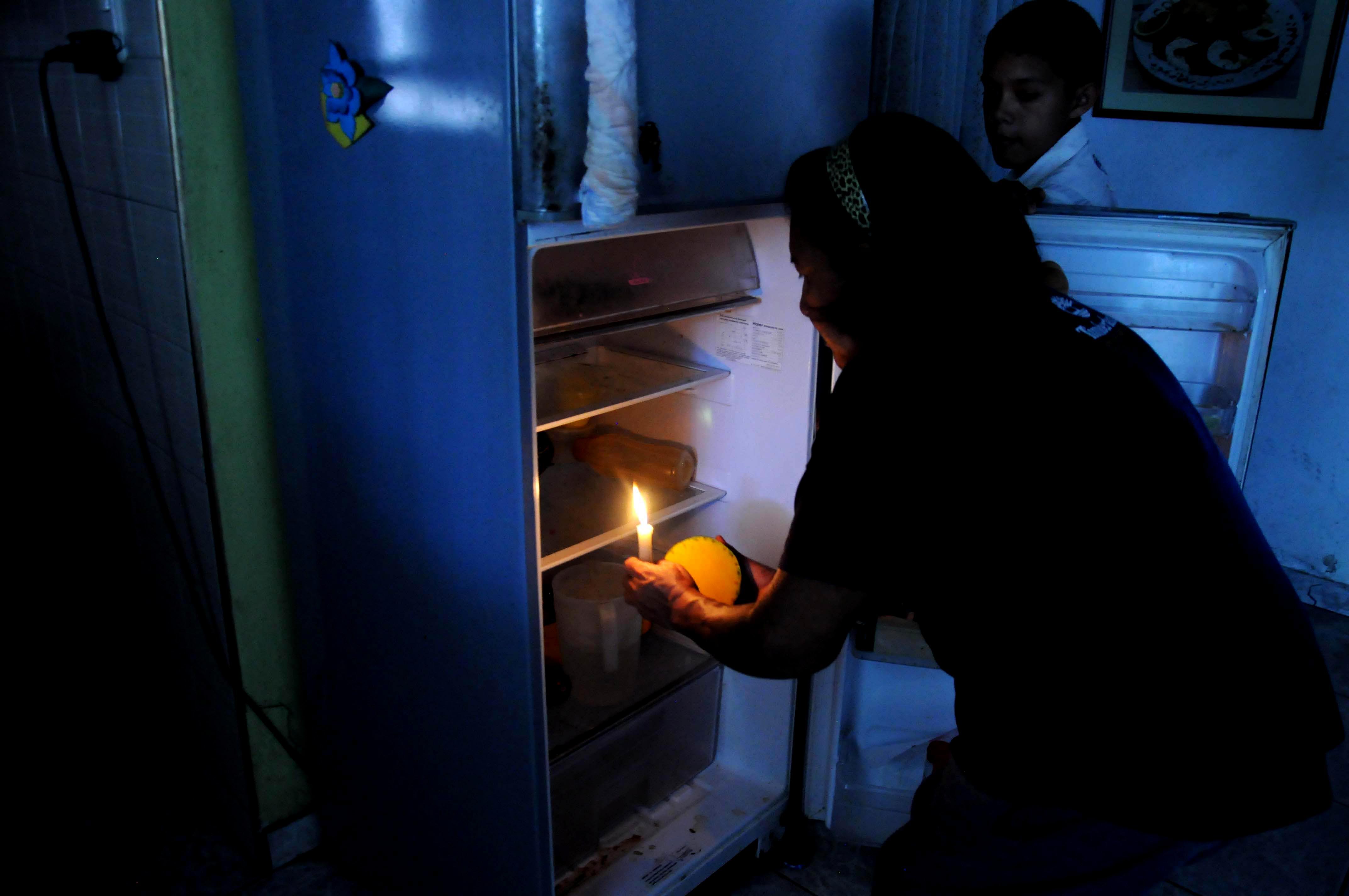 Sin electricidad algo normal en Venezuela