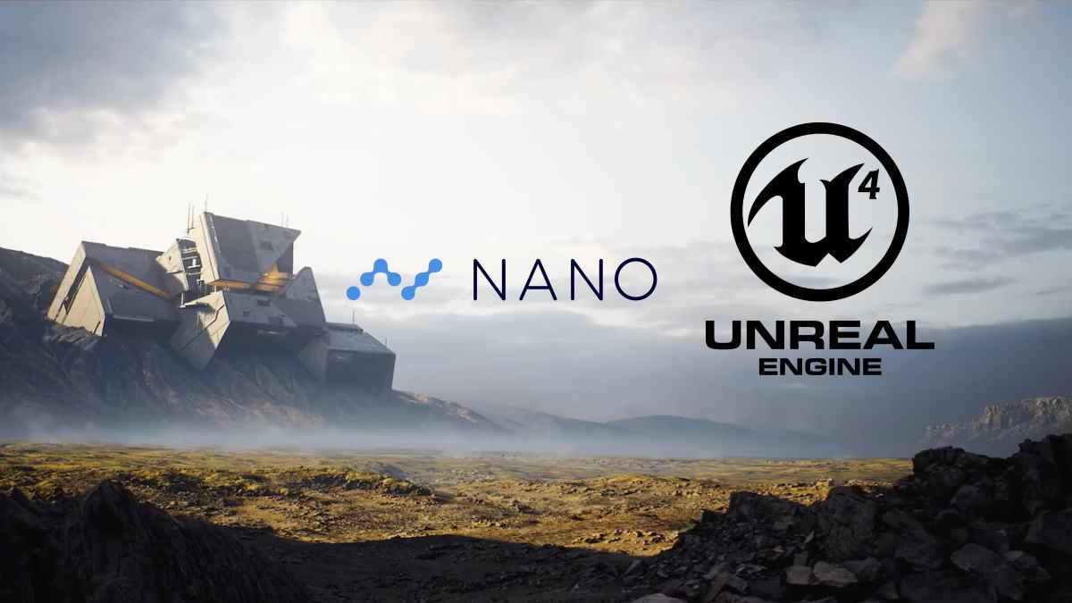 NANO aplicado en el motor de Unreal