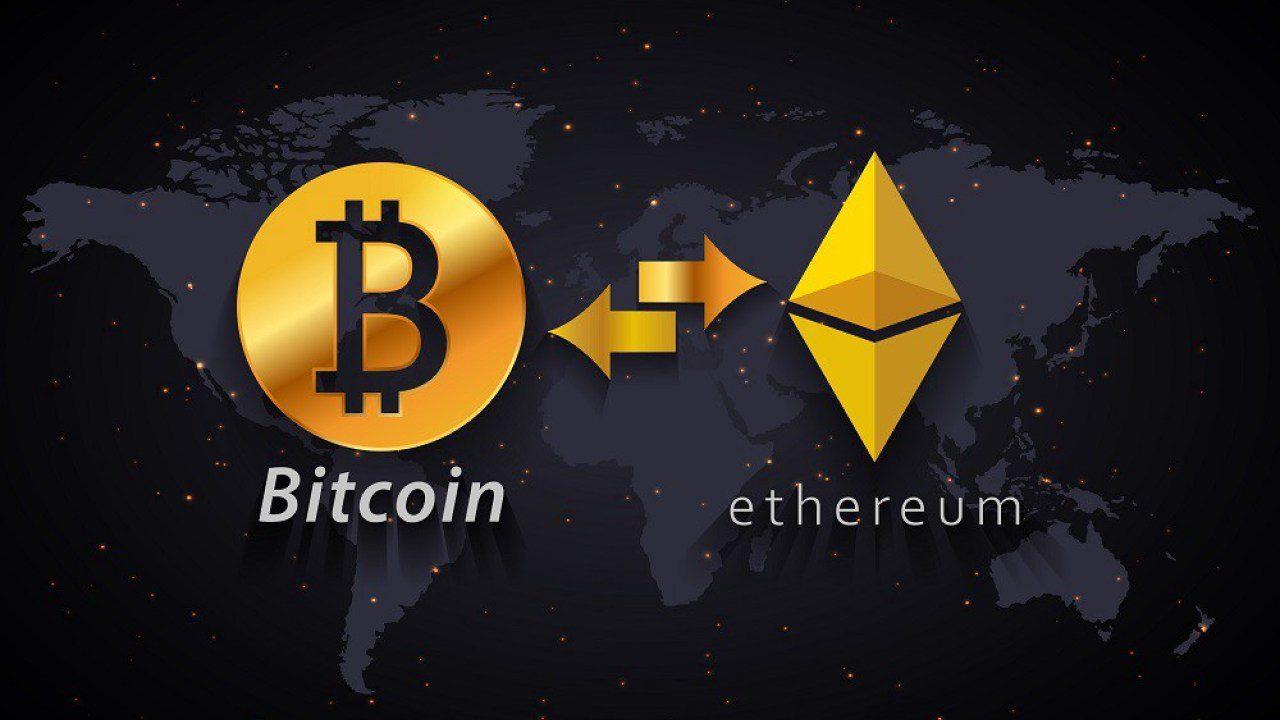 Bitcoin Ethereum pelean por el espacio DeFi