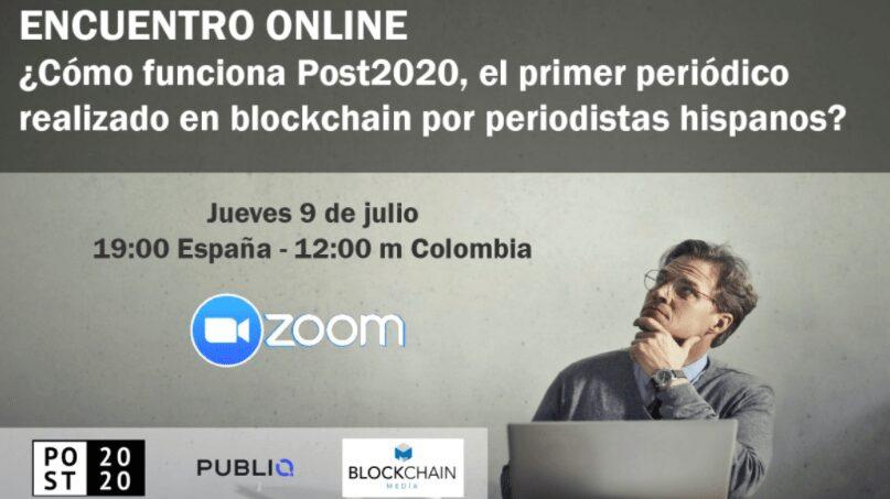 Post2020.world, primer diario en blockchain escrito por periodistas hispanos