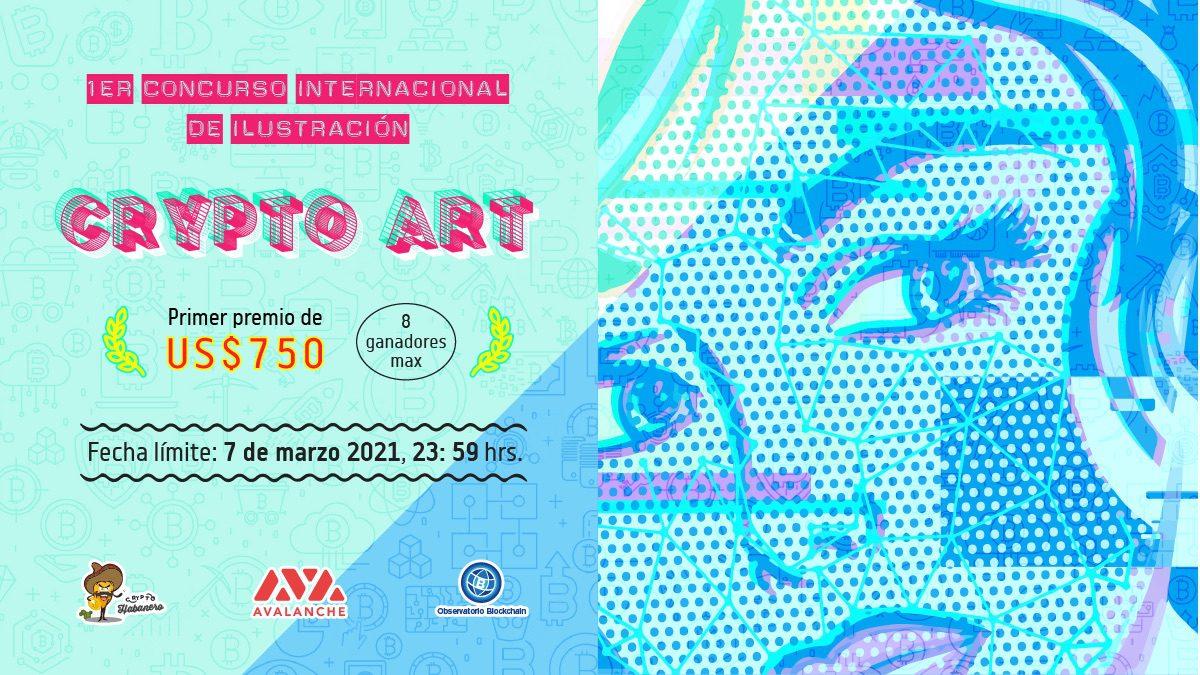 Primer Concurso de ilustración digital Crypto Art