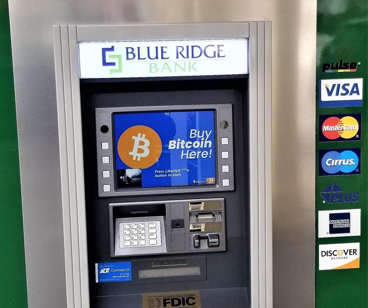 Blue Ridge cajeros bitcoin
