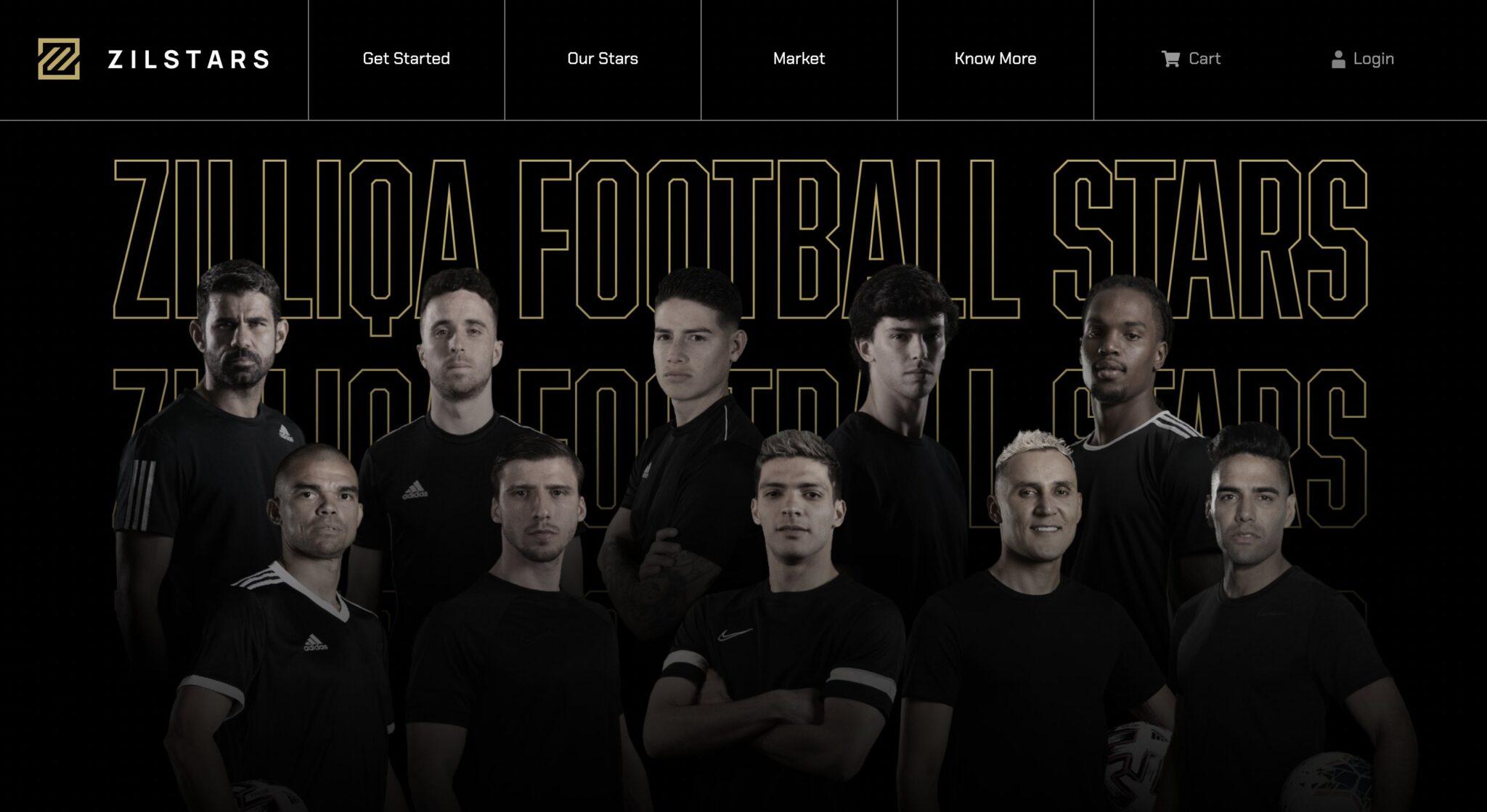 futbolistas NFTs