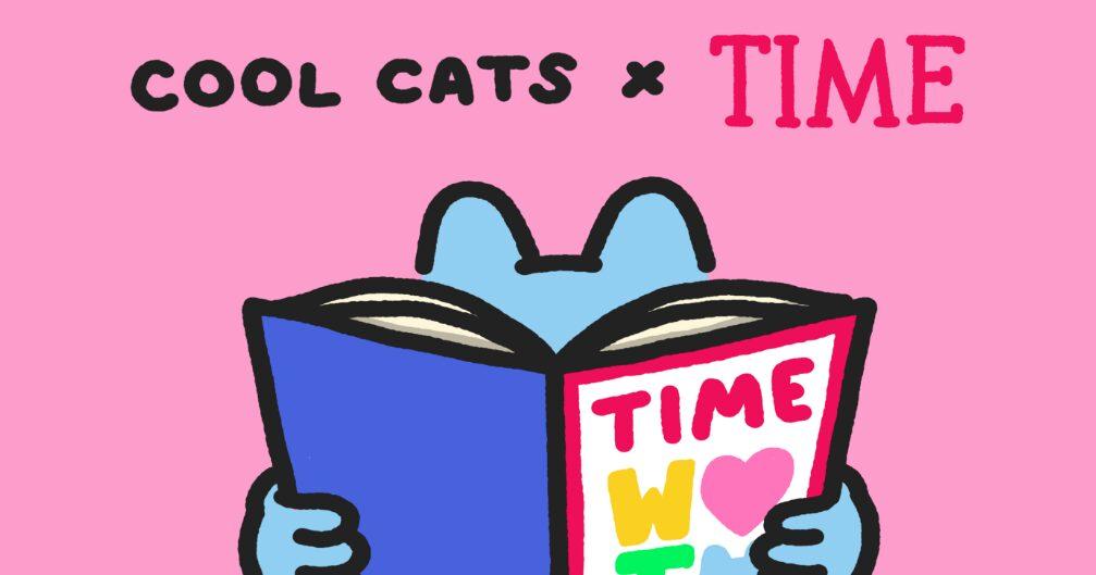 TIME y Cool Cats lanzan colección gatitos en NFT de edición limitada