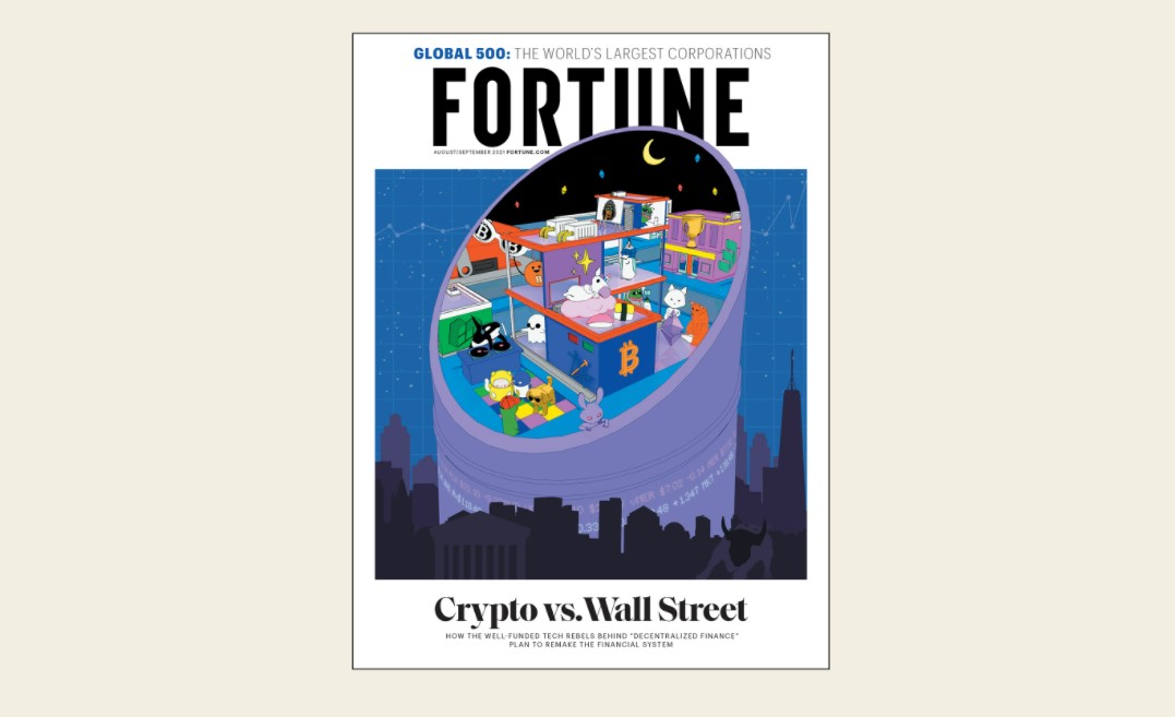 Fortune dona al periodismo los ethers de la venta de sus NFT